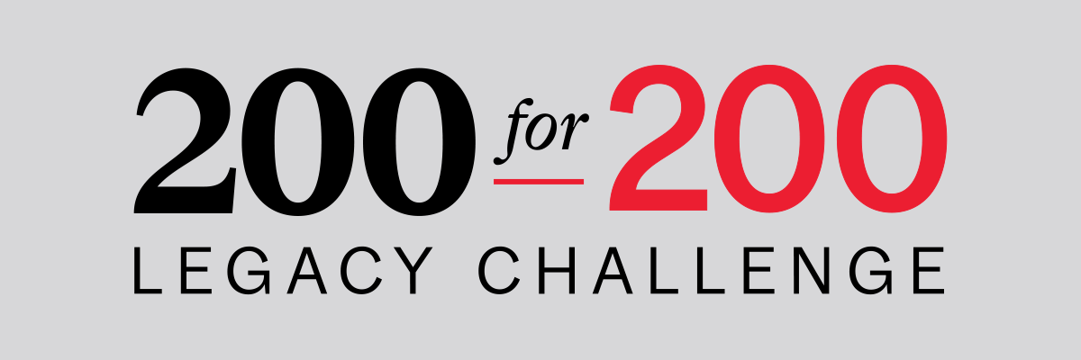 McGill 200 for 200 Legacy Challenge promo banner