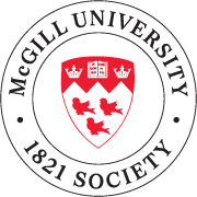 McGill University 1821 Society Logo