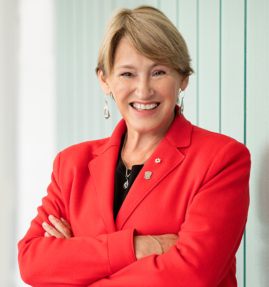 McGill Principal and Vice-Chancellor, Professor Suzanne Fortier